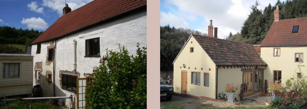 before and after for this property